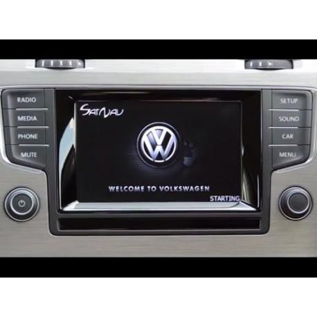 VW Discover 1 Rytų (Lietuvos) ir Vakarų Europos žemėlapiai