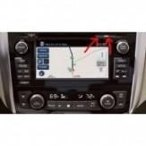 Nissan Connect 3-Rytų (Lietuvos) ir Vakarų Europos žemėlapiai
