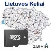 Lietuvos keliai žemėlapis (microSD)